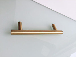 """3"""" European T-Bar Round Brushed Cabinet Pull Drawer Pull - $8.99"""