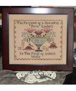 Summer Roses cross stitch chart Abby Rose Designs - $9.90