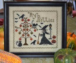 My Pretties halloween cross stitch chart Abby R... - $8.10