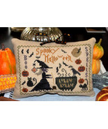 Spooky Halloween halloween cross stitch chart Abby Rose Designs - $8.10