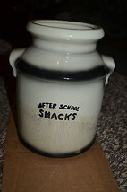 "Antique ""After School Snacks""Cookie Jar Ceramic... - $9.89"