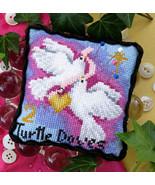 2 Turtle Doves Pincushion cross stitch chart Bobbie G Designs - $6.30