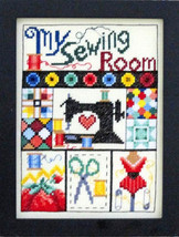 I Love My Sewing Room cross stitch chart Bobbie... - $9.00