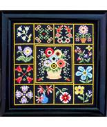 Flowers All Round cross stitch chart Bobbie G Designs - $9.00