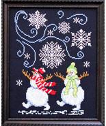 Catch A Falling Snowflake cross stitch chart Bobbie G Designs - $9.00
