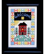 A Vintage Home cross stitch chart Bobbie G Designs - $7.20