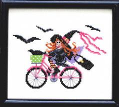 Ride Witch Ride cross stitch chart Bobbie G Des... - $7.20