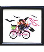 Ride Witch Ride cross stitch chart Bobbie G Designs - $7.20