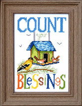 Count Your Bliessings #2 cross stitch chart Bobbie G Designs - $7.20