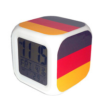 Led Alarm Clock Germany National Flag Creative Desk Digital Clock Kids T... - $19.99