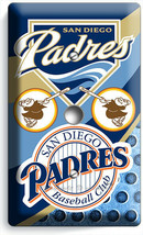 SAN DIEGO PADRES BASEBALL TEAM LIGHT DIMMER CABLE PLATES MAN CAVE FAN RO... - $10.99