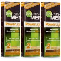 GARNIER MEN POWER LIGHT INTENSIVE FAIRNESS MOISTURIZER SPF-15 (20gm x 3 ... - $15.45