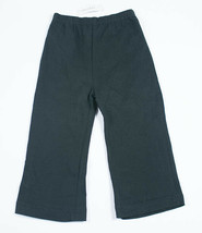 PARISIAN BEBE GIRLS SIZE 24M NWT GIRLS COAL BLACK PANTS COTTON SPANDEX N... - $9.89