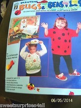 kids craft projects booklet painting bugs and beasties for ages 4-10 years - $15.00