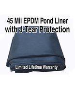 William Tricker Inc. AquaTough Pond Liner with J-Test Protection 10 ft x... - $239.58