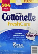 Vision Care Cottonelle Fresh Flushable Cleansing Cloths 504 Kleenex Home - $35.86