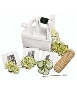 Kitchen Tool Cutter Vegetable Fruit Slicer Spir... - $75.69