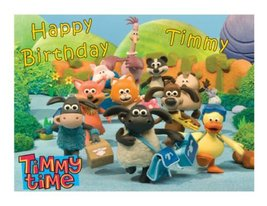 Timmy Time gang edible image cake frosting sheet party - $9.99
