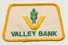 Vintage Valley Bank Idaho Company Farming Banking Collectible Embroidere... - $14.85