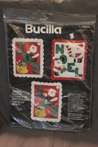 Christmas Needlecraft Kit Holiday Covers For Se... - $12.99
