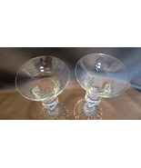 (Pair) MIKASA Crystal THE RITZ Candlestick Holders - $9.99