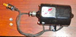 The Electrical Mfg. Co. 1/20 HP Sewing Motor On Mount Wired Working - $15.00