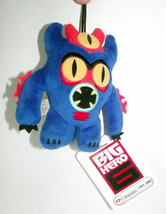Fred Plush 38627 Disney Big Hero 6 Stuffed Toy Ornament Doll Blue Monster NWT - $15.83