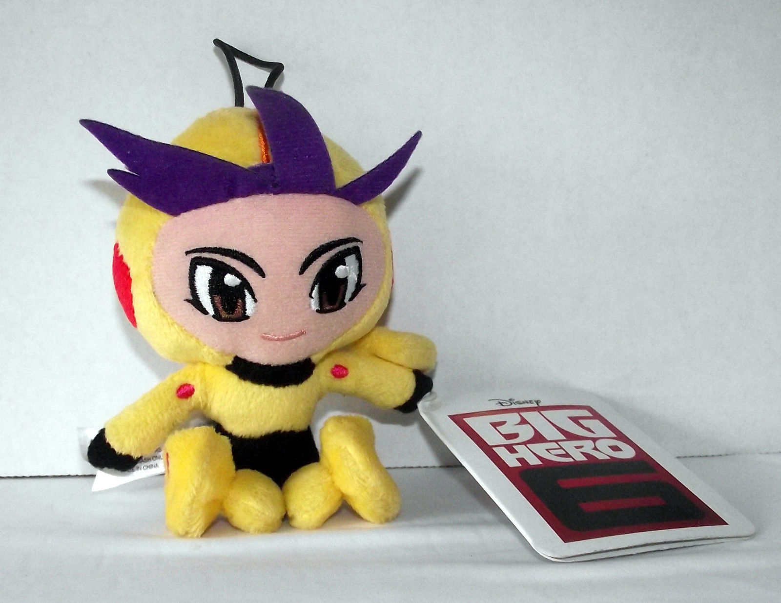 Go Go Tomago Plush 38628 Disney Big Hero 6 Stuffed Toy Ornament Doll Yellow NWT