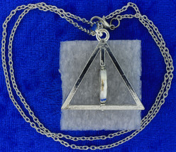Deathly hallows spinning necklace rotated thumb200