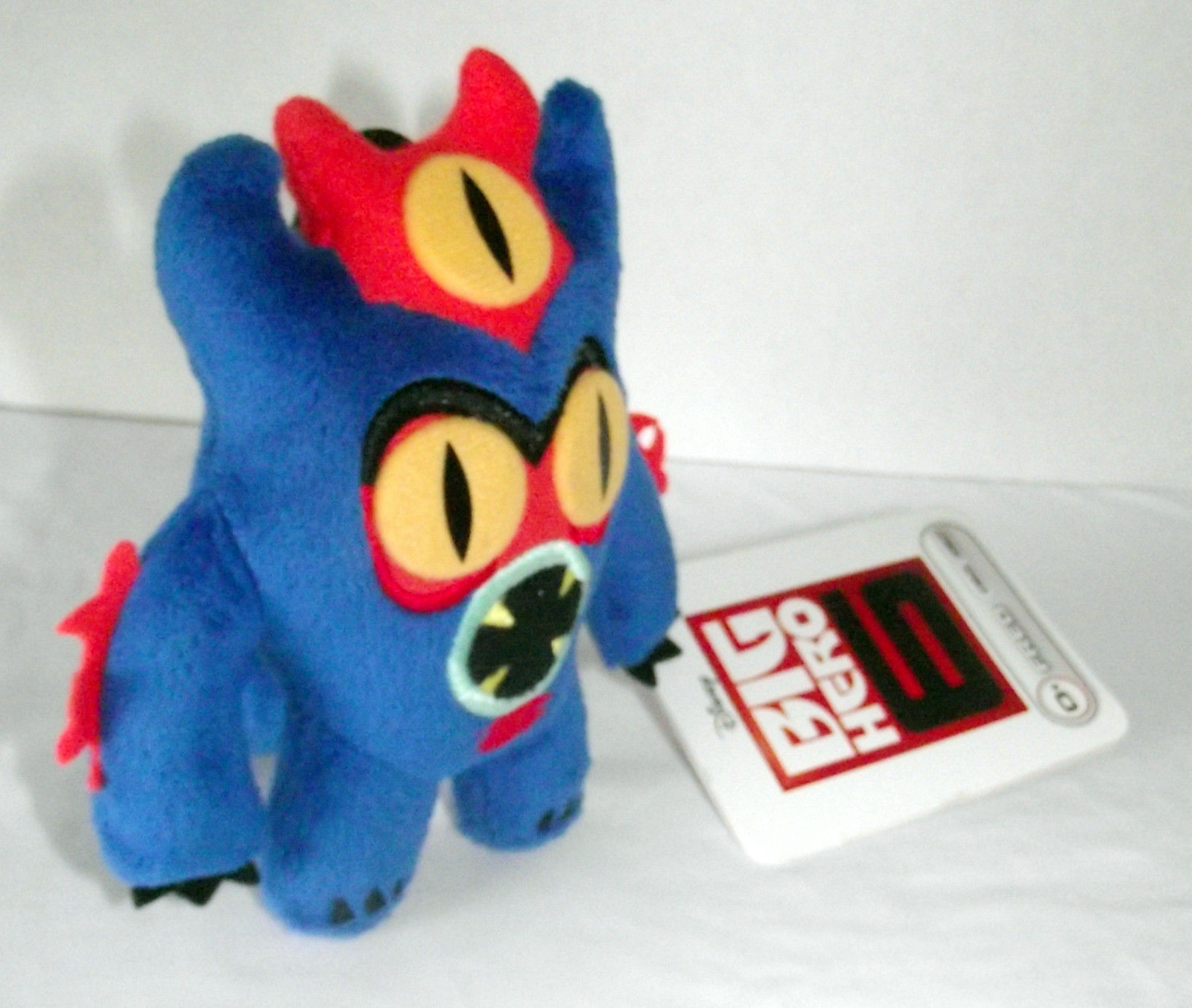 Fred Plush 38627 Disney Big Hero 6 Stuffed Toy Ornament Doll Blue Monster NWT