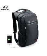 BDF Latest Men 15.6''Laptop Backpack External USB Charge Anti theft  Wat... - $66.45