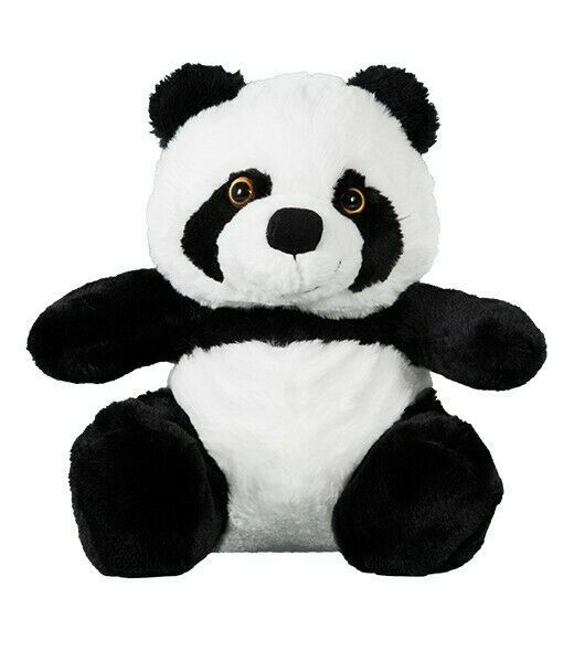 "Primary image for Teddy Mountain 16"" Panda Teddy Bear w/Tee Shirt DIY Stuffed Plush Craft Birthday"