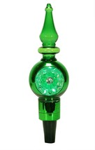 """Midwest 8"""" LED Lighted Shiny Green Retro Finial Wine Bottle Stopper - $14.59"""