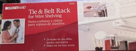 Closetmaid Tie and Belt Rack for Wire Shelving ... - $18.76