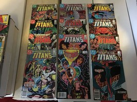 Tales Of The Teen Titans #61 - 72 1987 VF Condition DC Comic Book Lot Of 12 - $13.64
