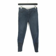 26 - J Brand Stepped Hem Skinny Snowbird Dark Wash Falttering Jeans 0520LF - $40.00