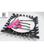 Al- Nurayn Medieval Style Iron Twig Flatware Cutlery Set Of 6 By Nautica... - $139.00