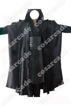 Star Wars Sith Dark Lord Darth Maul Tunic Robe Cloak Cosplay Costume Outfit Suit - $85.00
