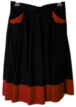 Circle Skirt Vampire Bats-By Hell Bunny-Rockabilly Skirt - $37.50