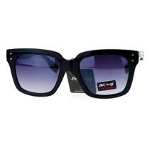 Skull Studded Sunglasses Chic Womens Modern Square Frame Shades - $8.95