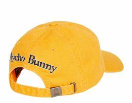 Psycho Bunny Men's Cotton Embroidered Skull Sports Baseball Cap Strapback Hat image 3