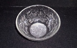 "Princess House FANTASIA 5 1/4"" Coupe Soup Bowl 5 1/2"" Frosted Center Excellent - $11.88"
