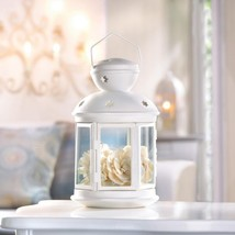 WHITE COLONIAL CANDLE LAMP - $16.00