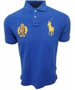 Polo Ralph Lauren Men's Classic-Fit Flag Crest Gold Big Pony Polo Shirt ... - $83.20+