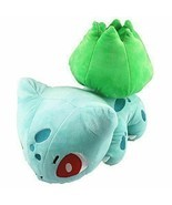 "Cuddly Pokemon Plush 12"" Cool Grass Bulbasaur Doll Stuffed Animals Soft ... - $14.14 CAD"