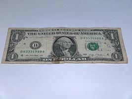 2009 $1 Dollar Bill Bank Note 63331999 Party Like It's 1999 Fancy Money ... - $12.68