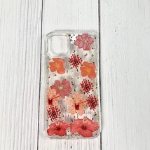 Pressed dried flower Design Phone case for LG k61/K51s/K41s In Red - $12.52