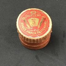 VTG Oakleaf USA Paper Fasteners No.3 Brass Original Package Office Suppl... - $9.80