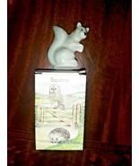 Wade Whimsie-Land Set 4 Hedgerow Series #20 Squirrel Vintage 1986 - $11.88