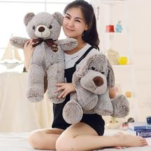 Lovely Cartoon Yoga Dog Teddy Bear Plush Toys Stuffed Soft Kawaii Animal Toy Dol - $56.99+